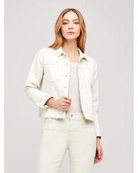 L'Agence Janelle Denim Jacket - Multicolor