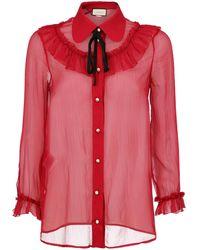 Gucci Camicie - Rosso