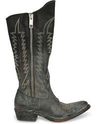 Golden Goose Deluxe Brand Boots - Grey