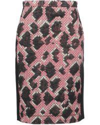Balenciaga Midi Skirts - Black