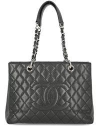 Chanel Grand Shopping Tote - Nero
