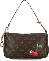 Louis Vuitton Pochette Accessoires - Marrone