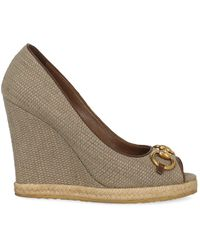 Gucci Wedges - Brown