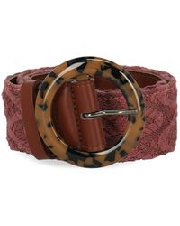 Missoni High-waisted Belts - Pink