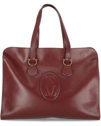 Cartier Tote Bags - Red