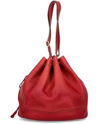 Hermès Borse a secchiello - Rosso