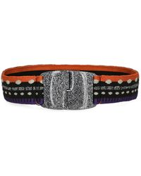Missoni High-waisted Belts - Multicolor