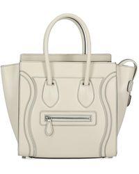 Celine Luggage - Bianco