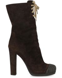 Fendi Ankle Boots - Brown