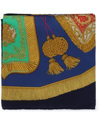 Hermès Silk Scarves - Blue