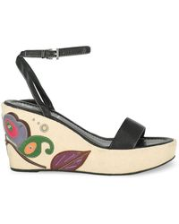 Prada Wedges - Black