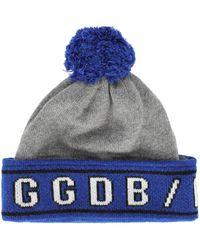 Golden Goose Deluxe Brand Beanies - Blue