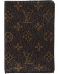 Louis Vuitton Portafogli - Marrone