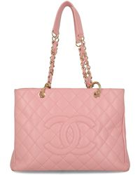Chanel Grand Shopping Tote - Pink
