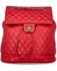 Chanel Backpacks - Red