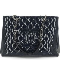 Chanel Grand Shopping Tote - Blue