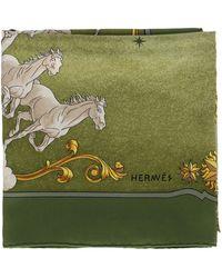 Hermès Foulard - Verde