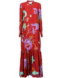 La DoubleJ Long Dresses - Red