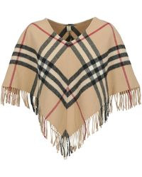 Burberry Capes - Natural