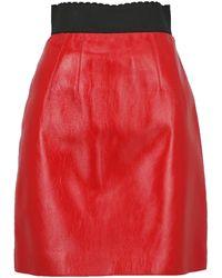 Dolce & Gabbana Midi Skirts - Red