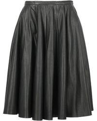 McQ Midi Skirts - Black