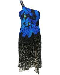 Roberto Cavalli Midi Dresses - Blue