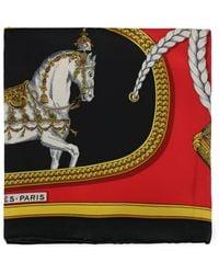 Hermès Silk Scarves - Red