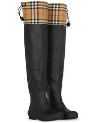 Burberry Boots - Black