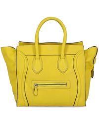 Celine Luggage - Giallo