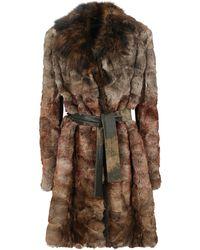 Dior Fur Coats - Brown