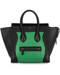 Celine Luggage - Verde