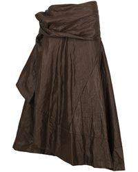 Junya Watanabe Maxi Skirts - Brown