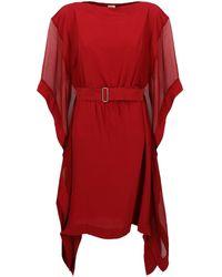 Hermès Vestiti midi - Rosso