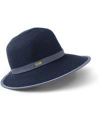 Lands' End Facesaver Sun Hat - Blue