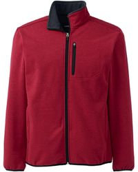 Lands' End Soft Shell Jacket - Red