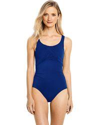 Lands' End - Carmela Slender Swimsuit - Lyst