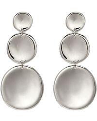 J.HARDYMENT - '3 Round Thumbprint' Coin Drop Earrings - Lyst