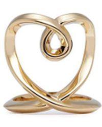 Chloé - 'heart' Twist Band Ring - Lyst