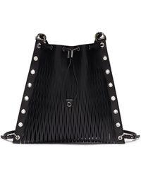 Sonia Rykiel - 'le Baltard' Leather Net Drawstring Backpack - Lyst