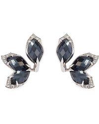 Stephen Webster - Crystal Haze Diamond 18k White Gold Earrings - Lyst