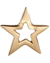 Loquet London - 'star' 14k Yellow Gold Single Stud Earring – You're A Star - Lyst