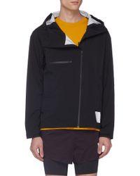Satisfy 3-layered Running Jacket - Black