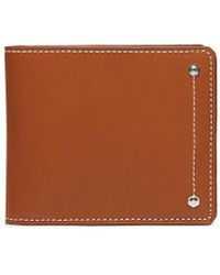 CONNOLLY 'hex' Leather Bifold Wallet - Brown
