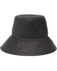 Eric Javits 'marina' Bucket Hat - Black