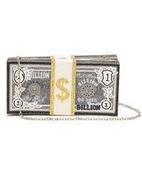 Judith Leiber Billion Stack Of Cash Crystal Pavé Clutch - Multicolour