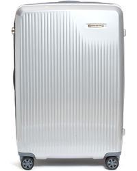 Briggs & Riley Sympatico Large Expandable Spinner Limited Edition Suitcase – Silver - Metallic