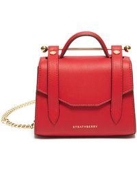 Strathberry Allegro Micro' Satchel Style Crossbody Bag - Red