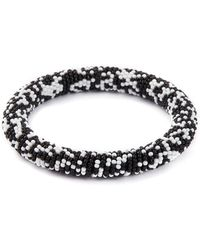 Kenneth Jay Lane - Seed Bead Bangle - Lyst