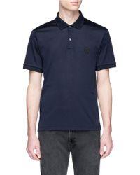 Alexander McQueen - Skull Patch Polo Shirt - Lyst