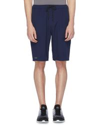 Dyne 'pisano' Water-resistant Track Shorts - Blue